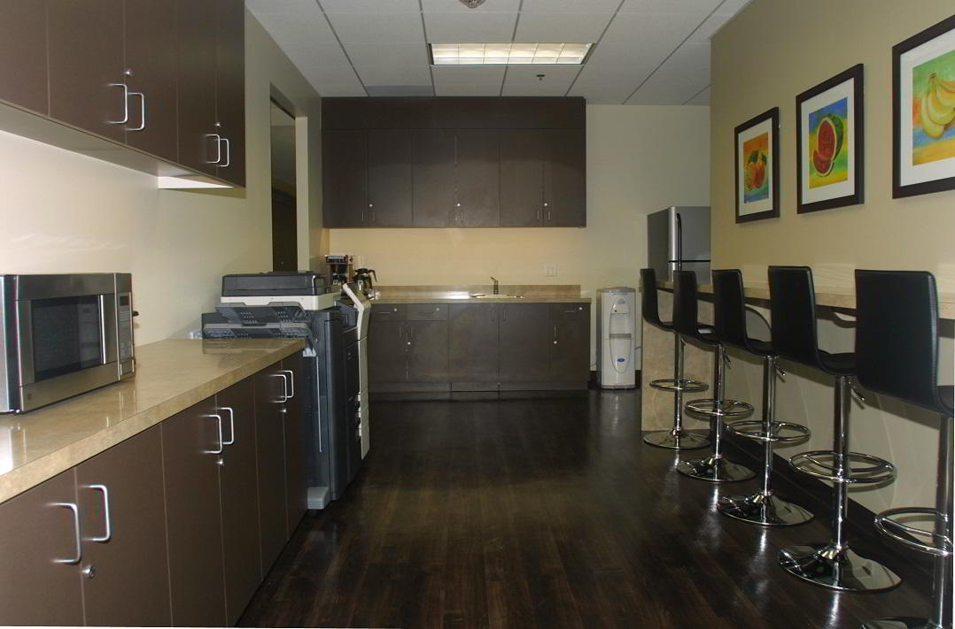 Break Area in Manhattan Beach Virtual Office