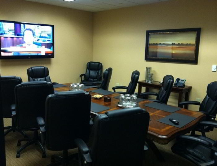 Stylish Orlando Meeting Room