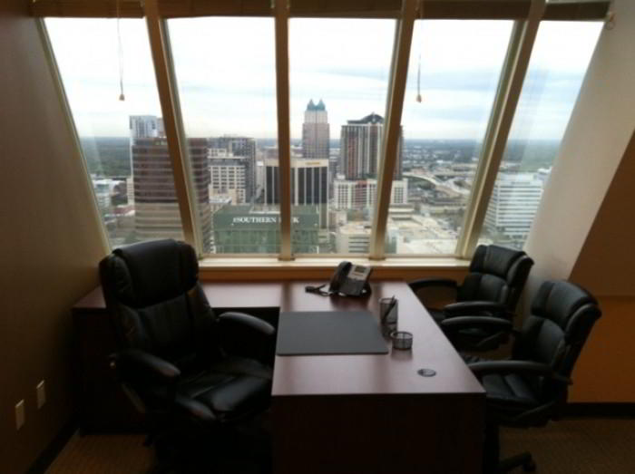 Temporary Orlando Office - Meeting Room