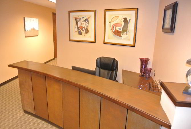 Receptionist Lobby - Virtual Offices in Lake Mary