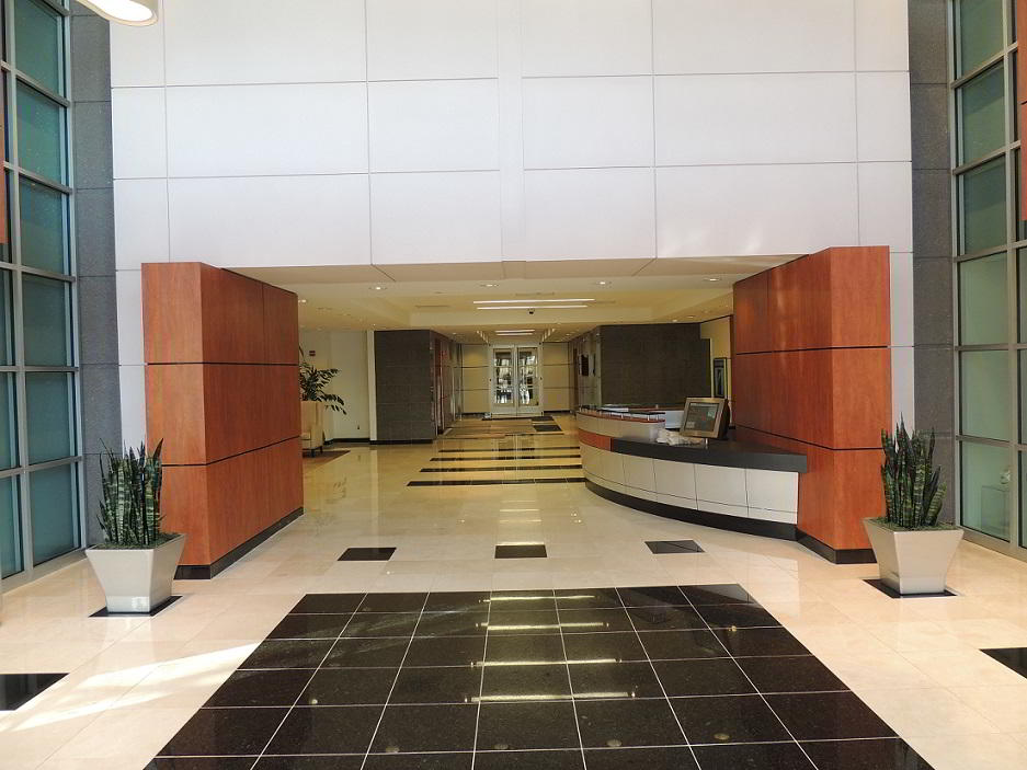 Receptionist Lobby - Virtual Offices in Rutherford