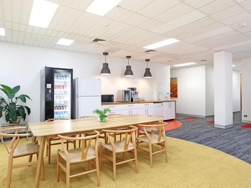 Break Area in Edgecliff Virtual Office Space