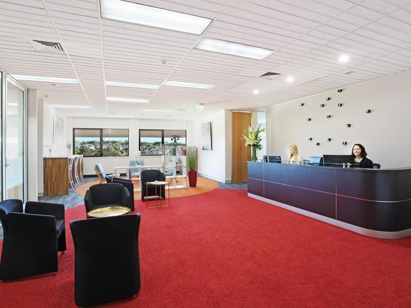 Receptionist Lobby - Virtual Offices in Edgecliff
