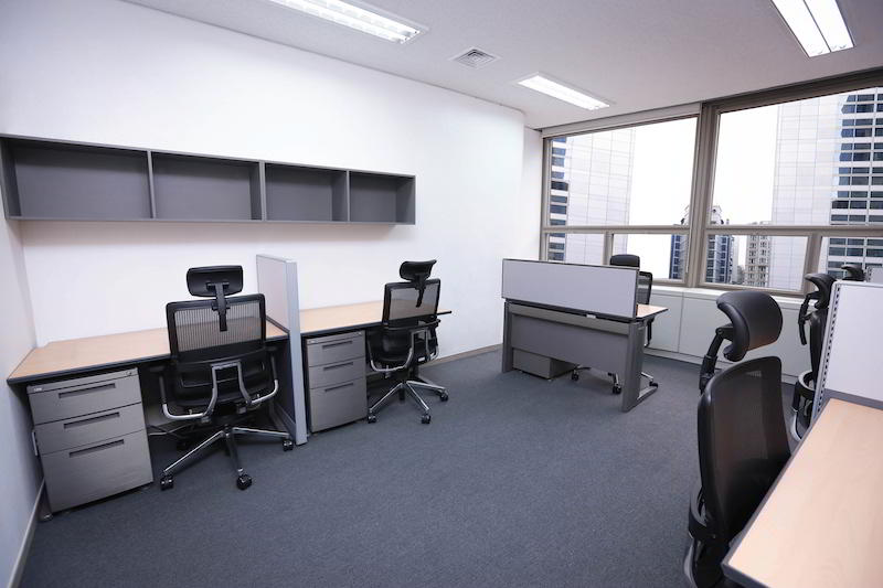 Seoul Virtual Office Space - Comfortable Commons Area