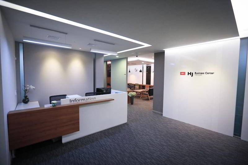 Receptionist Lobby - Virtual Offices in Seoul