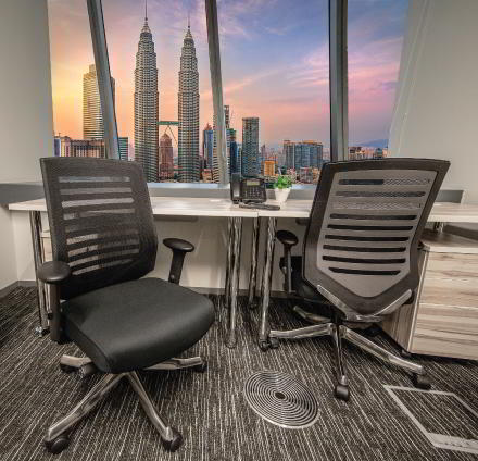 Kuala Lumpur Virtual Office Space - Comfortable Commons Area