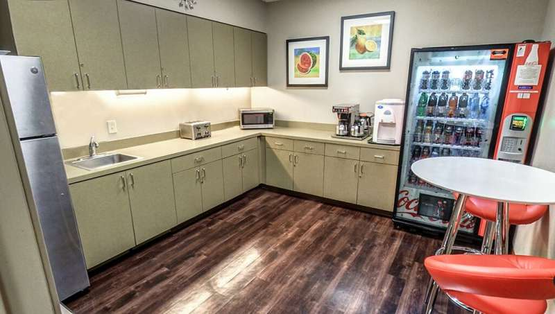 Break Room - Kitchen Area - Century City Virtual Office