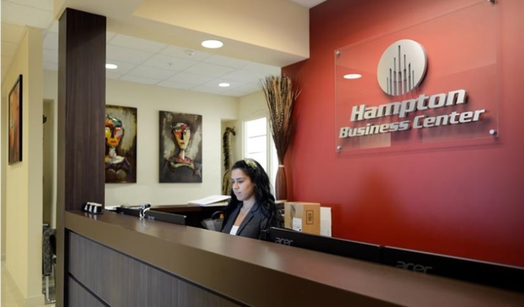 Receptionist Lobby - Virtual Offices in Pembroke Pines