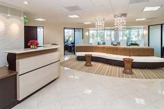 Receptionist Lobby - Virtual Offices in Foothill Ranch