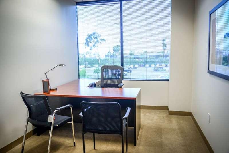 Temporary Irvine Office - Meeting Room