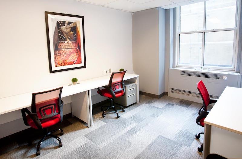 New York Busines Address - Lounge Area