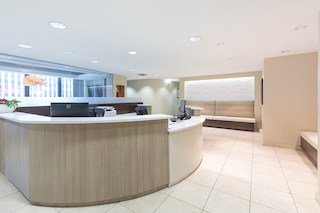 Receptionist Lobby - Virtual Offices in Long Beach