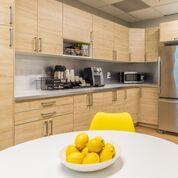 Break Area in Jersey City Virtual Office Space
