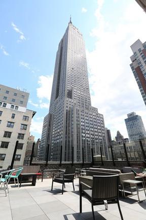 New York Virtual Office Address - Lounge Commons Area