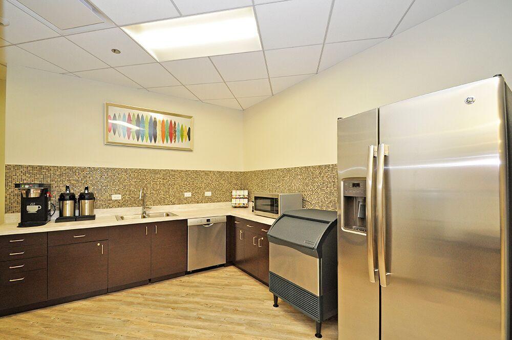 Break Area in Chicago Virtual Office