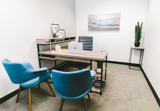 Temporary Grapevine Office - Meeting Room