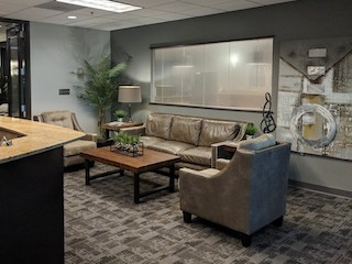 Receptionist Lobby - Virtual Offices in Duluth
