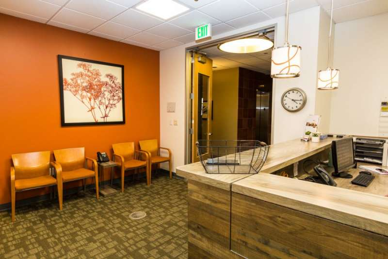 Receptionist Lobby - Virtual Offices in Lakewood