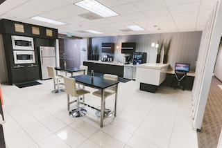 Break Area in Dallas Virtual Office Space