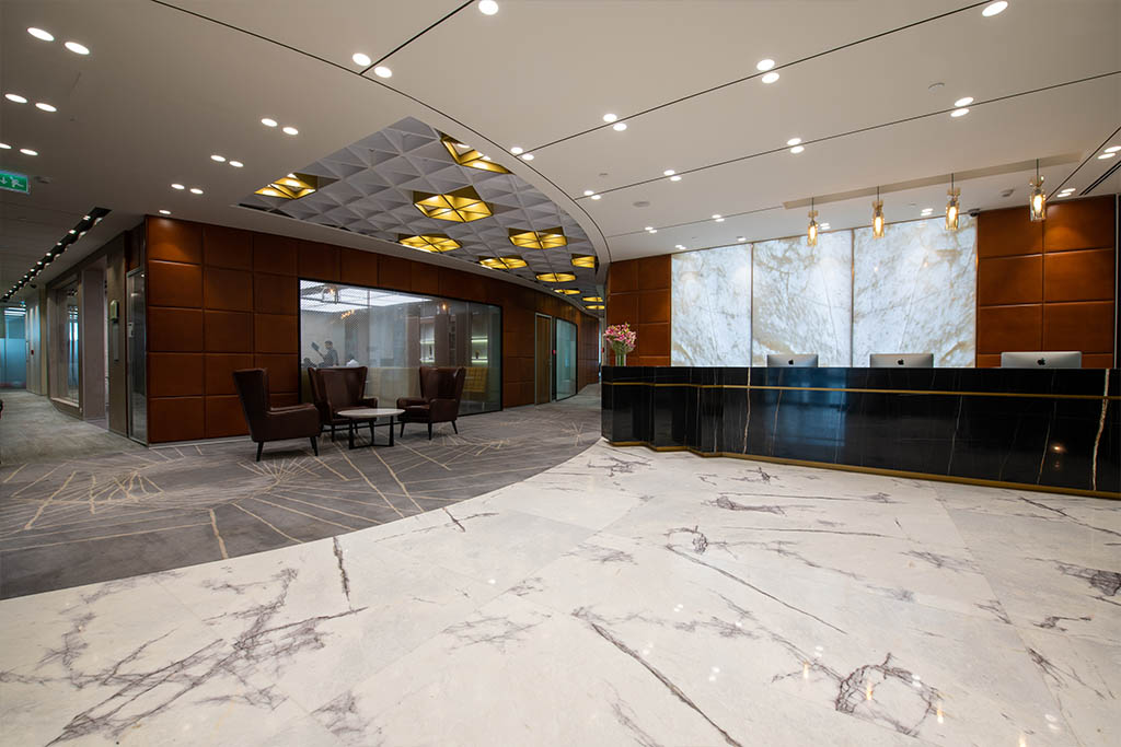Receptionist Lobby - Virtual Offices in Bangalore
