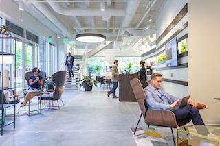 Atlanta Virtual Office Address - Lounge Commons Area