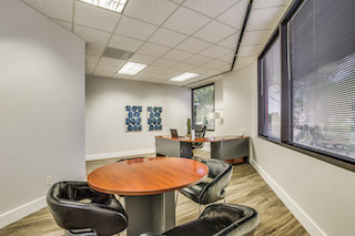 Temporary Houston Office - Meeting Room