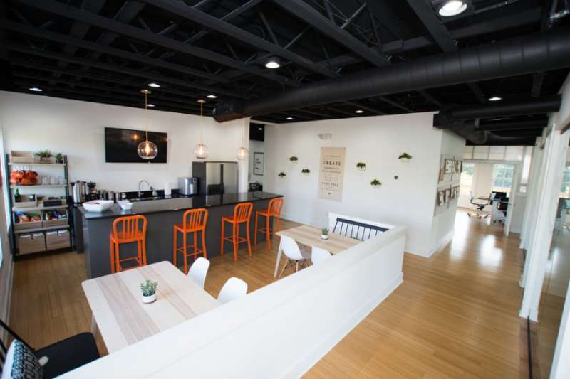 Break Area in Milton Virtual Office