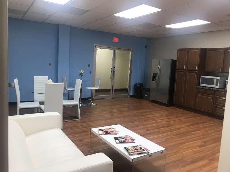 Break Area in Laurel Virtual Office