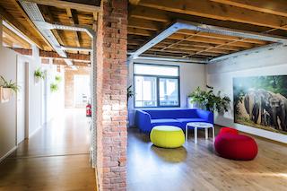 Antwerp Virtual Office Address - Lounge Commons Area