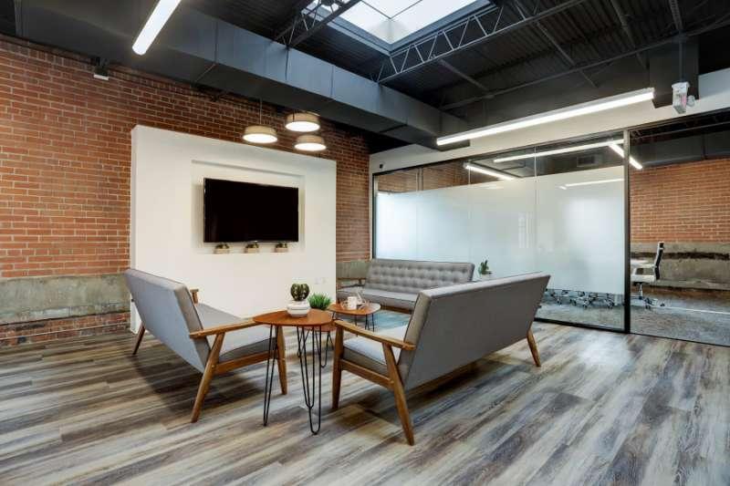 Houston Virtual Office Address - Lounge Commons Area
