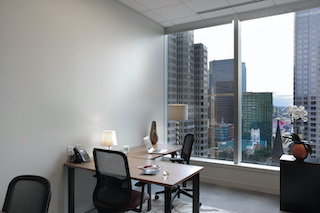 Temporary Dallas Office - Meeting Room