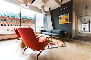 Atlanta Virtual Office Space - Comfortable Commons Area