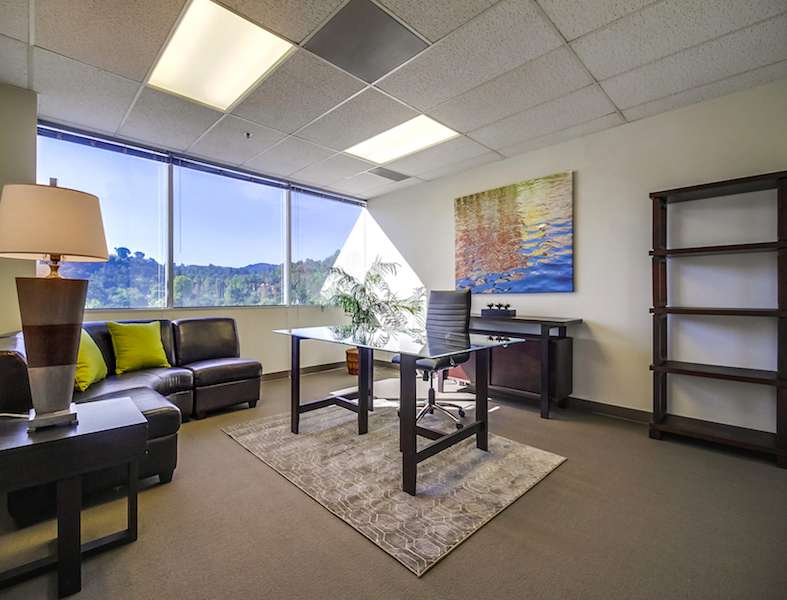 Temporary Encino Office - Meeting Room