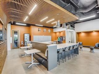 Break Area in Plano Virtual Office