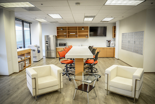 Break Area in Irvine Virtual Office