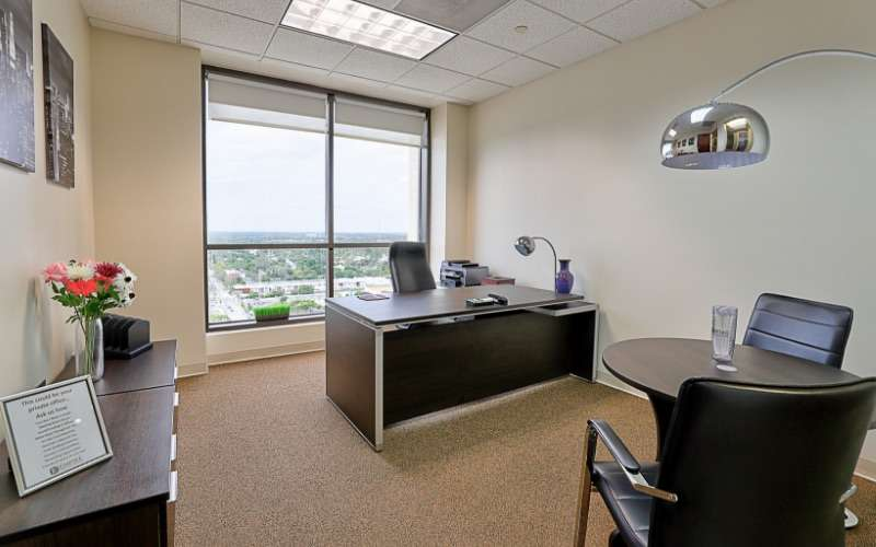 Temporary Ft. Lauderdale Office - Meeting Room