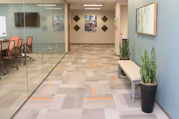 Houston Virtual Office Space - Comfortable Commons Area