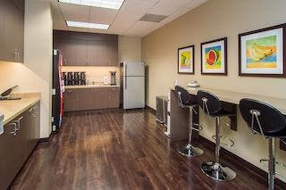 Break Area in Irvine Virtual Office Space