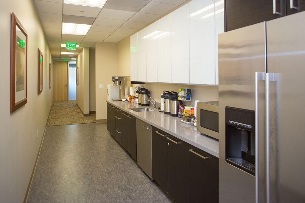 Break Room - Kitchen Area - San Francisco Virtual Office