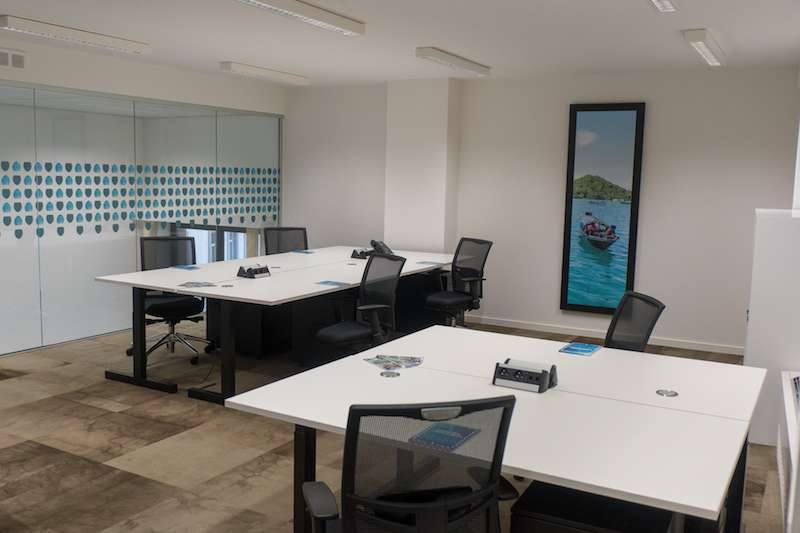 Brussels Virtual Office Space - Comfortable Commons Area