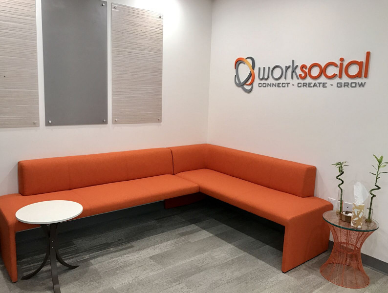 Receptionist Lobby - Virtual Offices in Jersey City