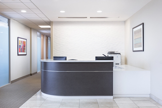 Receptionist and Mail Area - Los Angeles Virtual Office