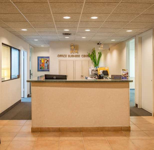 Miami Live Receptionist and Business Address Lobby