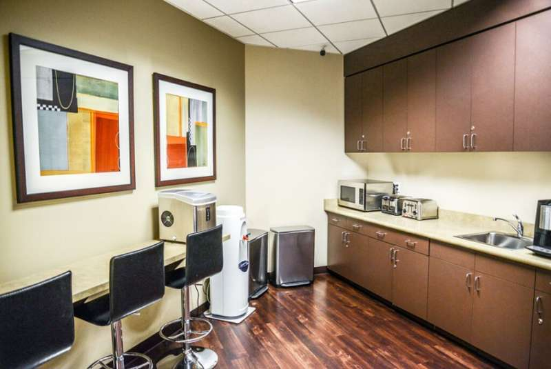 Break Room - Kitchen Area - Santa Monica Virtual Office