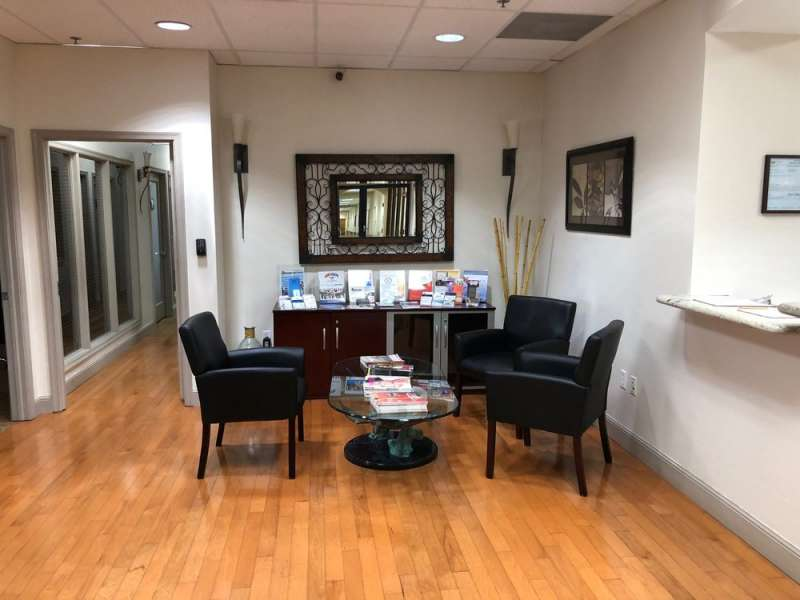 Weston Live Receptionist and Business Address Lobby