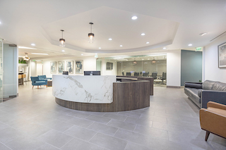 Receptionist and Mail Area - Century City Virtual Office