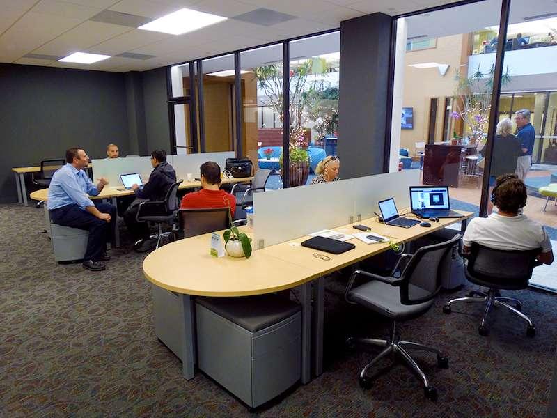 Boca Raton Virtual Office Address - Lounge Commons Area
