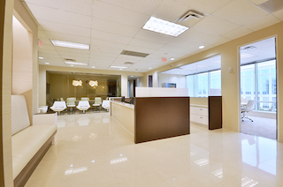 Frisco Live Receptionist and Business Address Lobby
