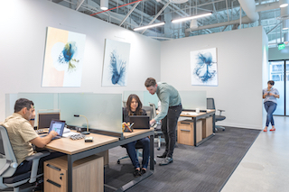Los Angeles Virtual Office Space - Comfortable Commons Area