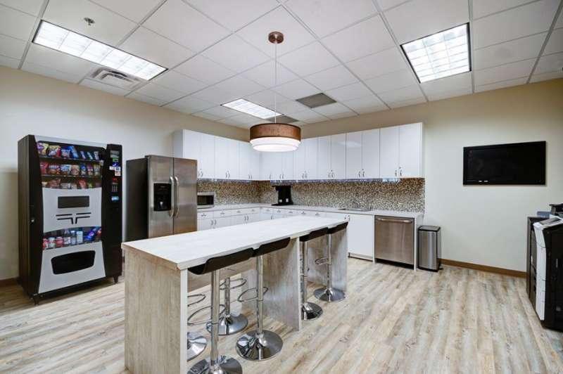 Break Room - Kitchen Area - Allen Virtual Office
